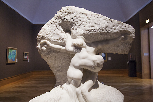 Rodin Joins the Impressionists