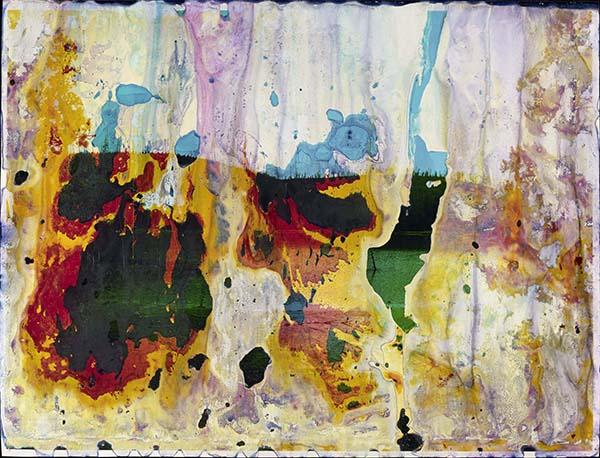 Rainbow Lake, WY A20, Matthew Brandt, © Matthew Brandt