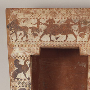 Terracotta Sarcophagus