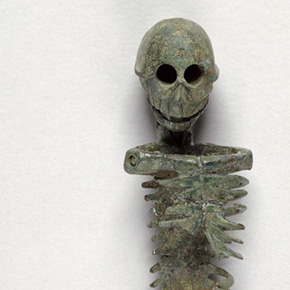 Roman Miniature Posable Skeleton