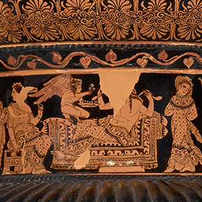 Greek Krater with Adonis, Aphrodite, and Persephone