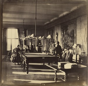 The Billiard Room, Mentmore House / Roger Fenton