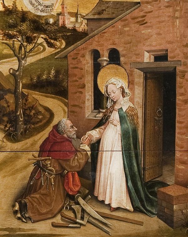 The Legend of St. Joseph / follower of Robert Campin