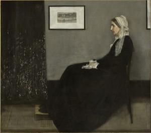Arrangement in Grey and Black No. 1, 1871, James Abbott McNeill Whistler. Oil on canvas. Paris, Musée d'Orsay © Musée d'Orsay, Dist. RMN-Grand Palais / Art Resource, NY