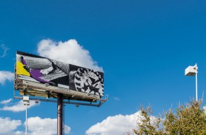 Manifest Destiny Billboard Project / John Baldessari