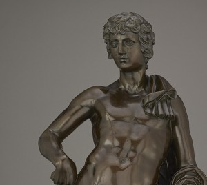 Belvedere Antinous - detail of head and torso / Tacca