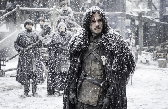 Jon Snow in HBO's Game of Thrones