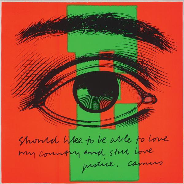 E eye love / Corita Kent