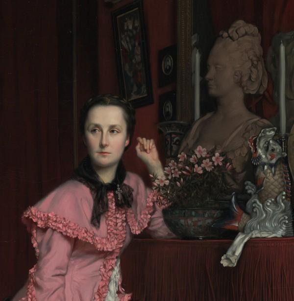 Portrait of the Marquise de Miramon, née, Thérèse Feuillant, James Tissot, 1866. The J. Paul Getty Museum, 2007.7