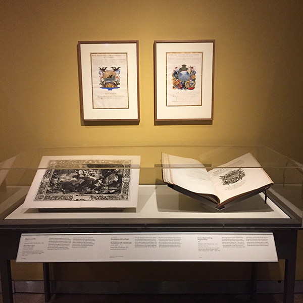Manuscripts featured in the Getty Research Institute galleries