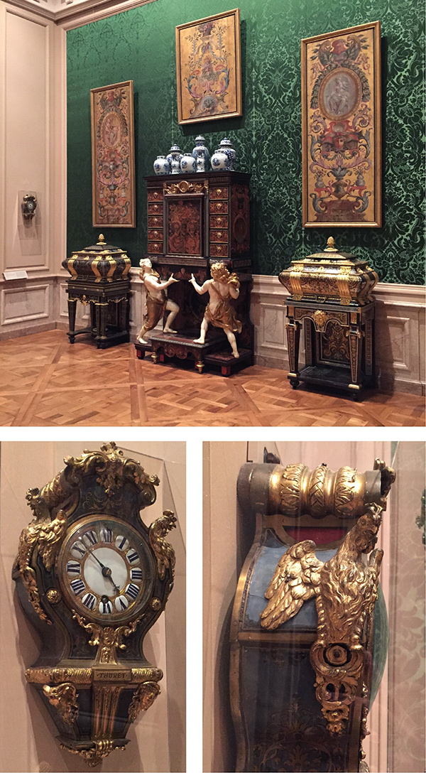 Wall Clock by Andre-Charles Boulle