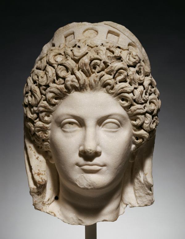 Portrait Head of Julia Titi / Roman