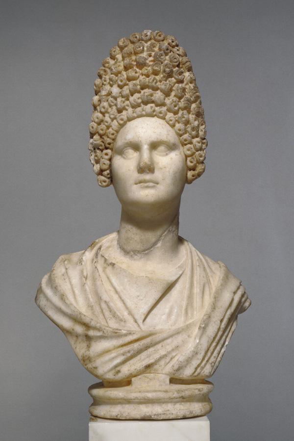 Bust of a Flavian Woman / Roman