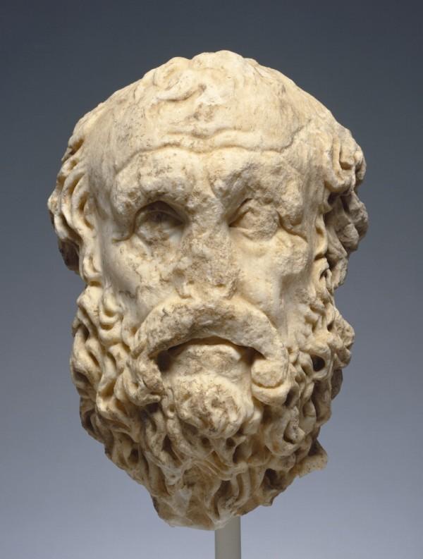 Portrait Head of Diogenes / Roman