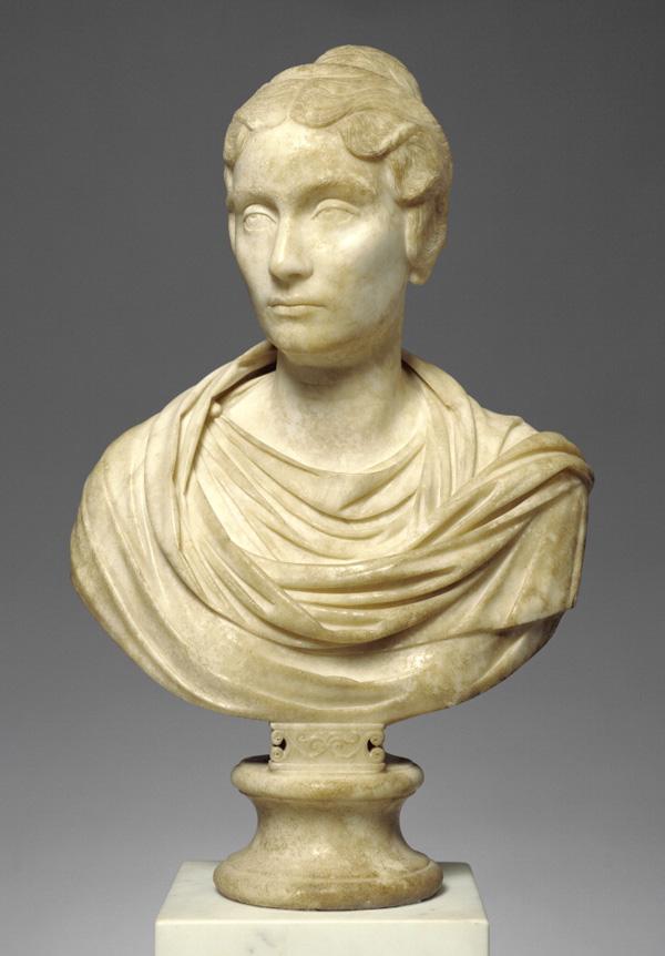 Portrait Bust of a Woman, front / Roman