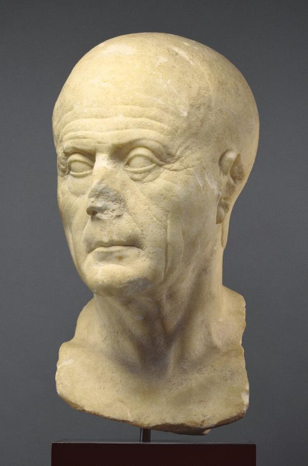 Portrait Head of an Old Man / Roman