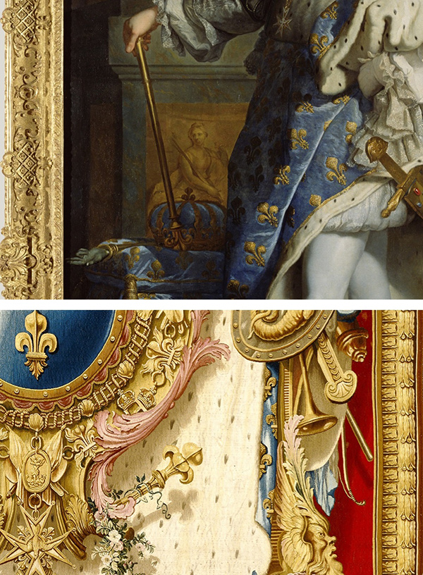 Emblems of France in artworks from the Getty Museum collection