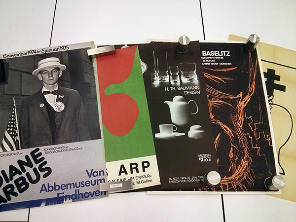 Posters from the Harald Szeemann archive
