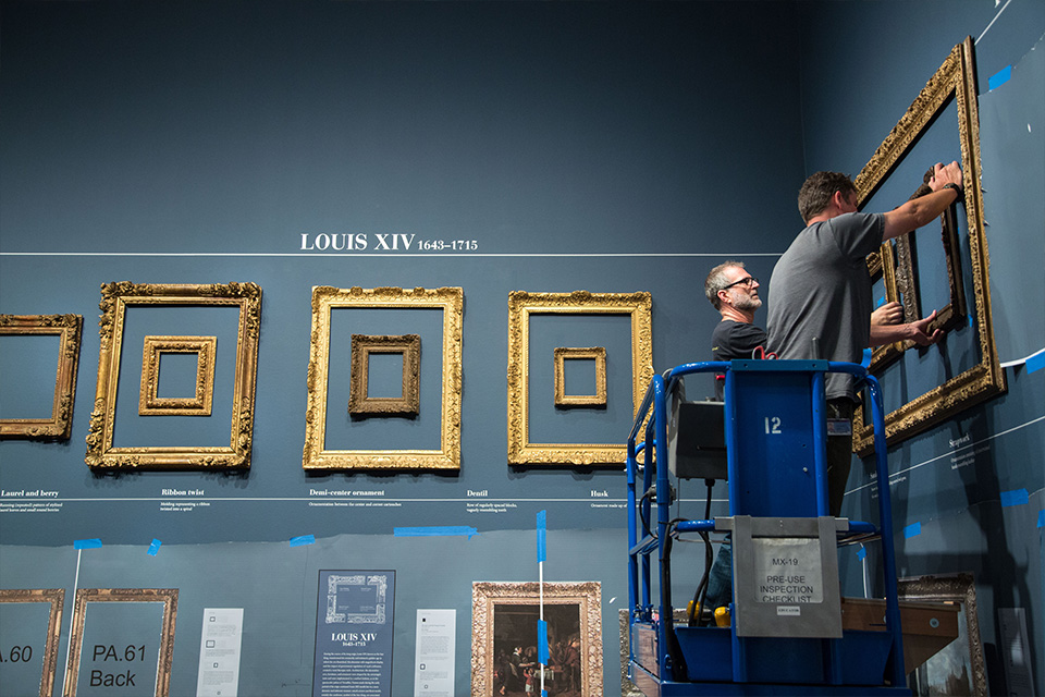 Framing a Frames Exhibition