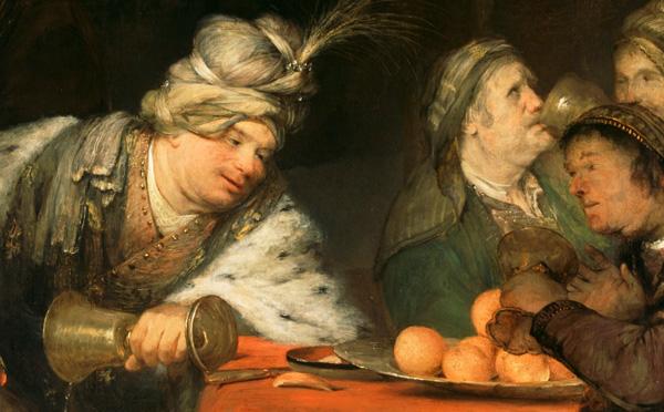 The Banquest of Ahasuerus / de Gelder