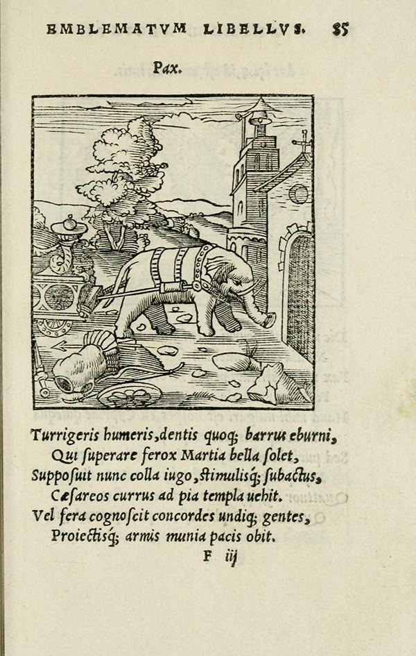 Woodcut in Emblematum liber