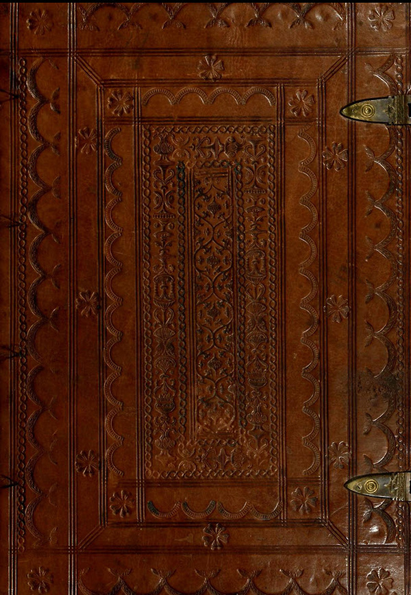 Ornamented leather cover of Champfleury