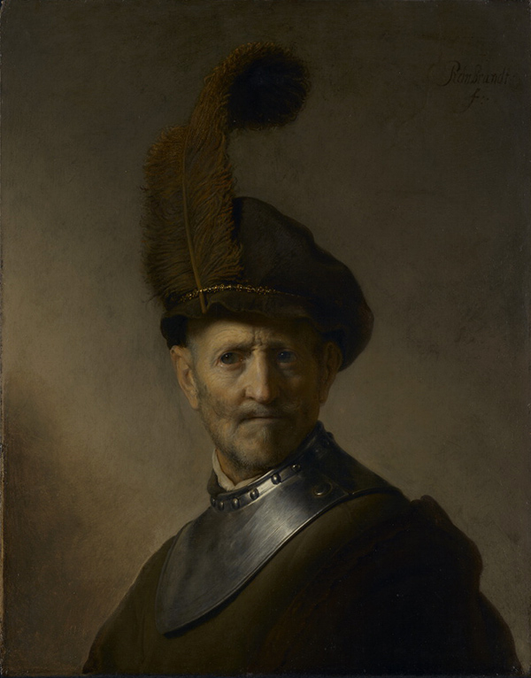 An Old Man in Military Costume / Rembrandt Harmensz. van Rijn