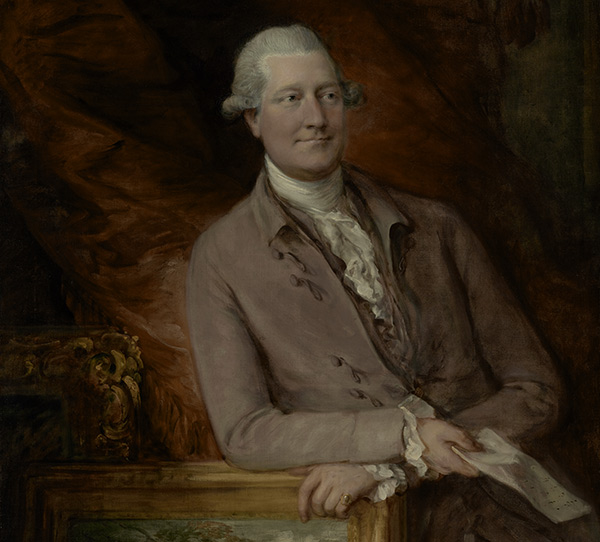 Portrait of James Christie / Gainsborough
