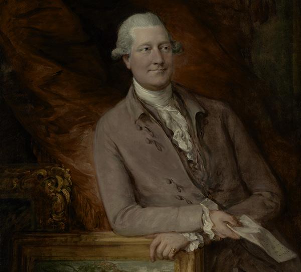Portrait of James Christie / Gainsborough