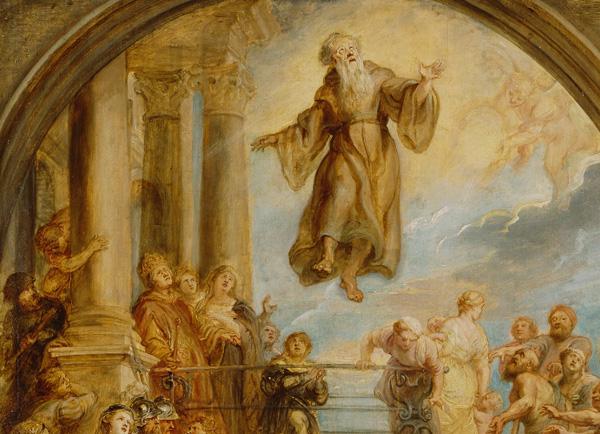 Saint Francis / Rubens