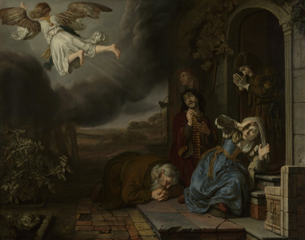 The Angel Taking Leave of Tobit and His Family / Victors