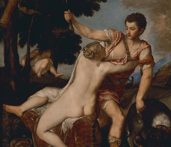 Venus and Adonis / Titian