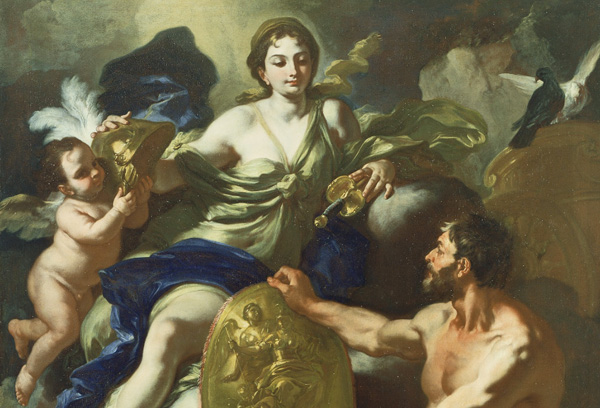 Venus at the Forge of Vulcan / Solimena
