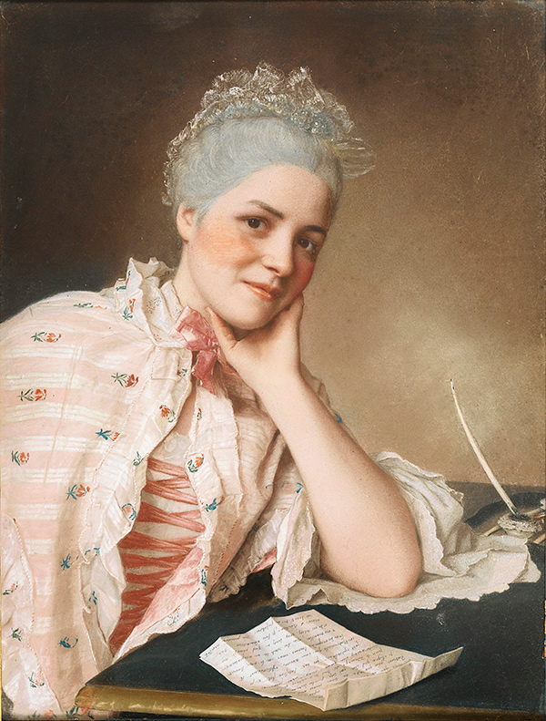 Portrait of Mademoiselle Louis Jacquet / Liotard