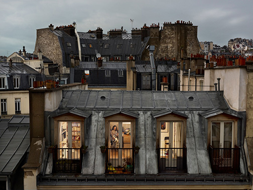 PARIS WINDOWS PHOTO