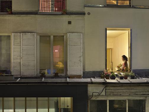 Le 29 octobre 2012, passage de Désir, rue du Fauborg-Saint-Denis, Paris-10e, Gail Albert-Halaban