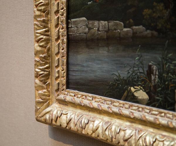 Two Watermills and an Open Sluice / Jacob van Ruisdael