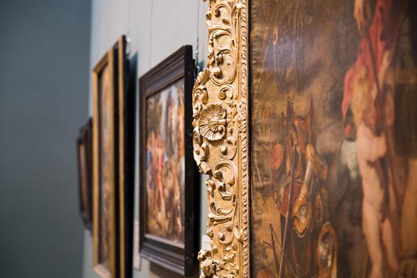 The Return from War: Mars Disarmed by Venus / Peter Paul Rubens and Jan Brueghel the Elder