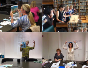 Creative at the Core K-12 teacher workshop at the Getty Museum