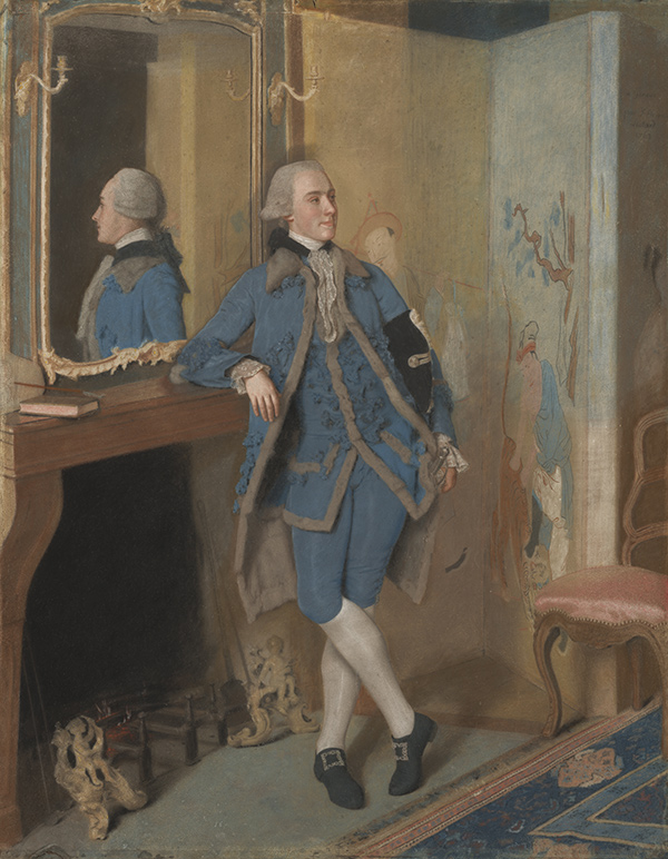 Portrait of John, Lord Mountstuart / Jean-Etienne Liotard