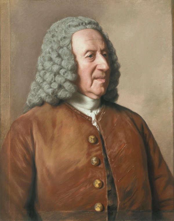 Portrait of Jean Tronchin / Jean-Etienne Liotard