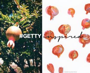 #GettyInspired pomegranates / Sarah Ferone
