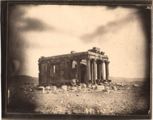 Temple of Baal Shamin, Palmyra, Syria, 1864, Louis Vignes, negative; Charles Nègre, print. Albumen print. The Getty Research Institute