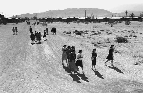People Walking / Adams