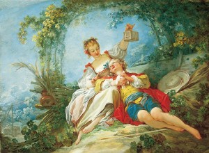 Happy Lovers / Fragonard