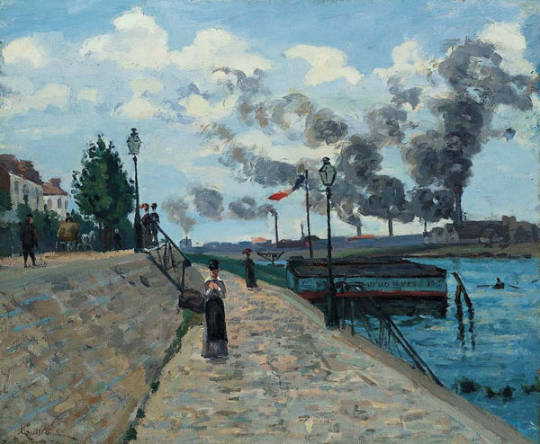 The Seine / Guillaumin