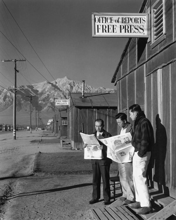 Free Press Office / Adams