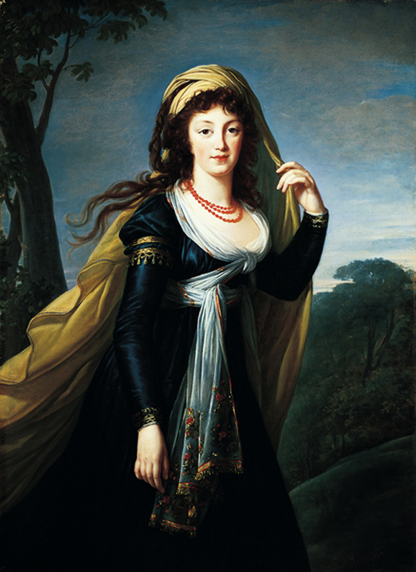 Portrait of Theresa / Vigée-Lebrun