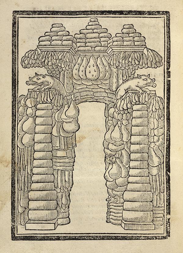 Cuccagna arch / Orilia