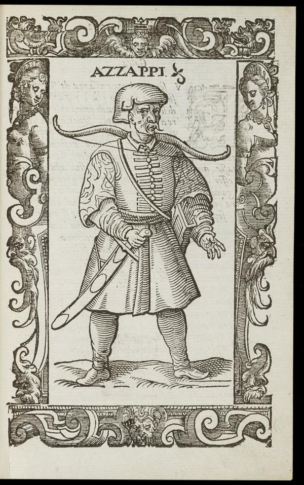 Azzappi woodcut